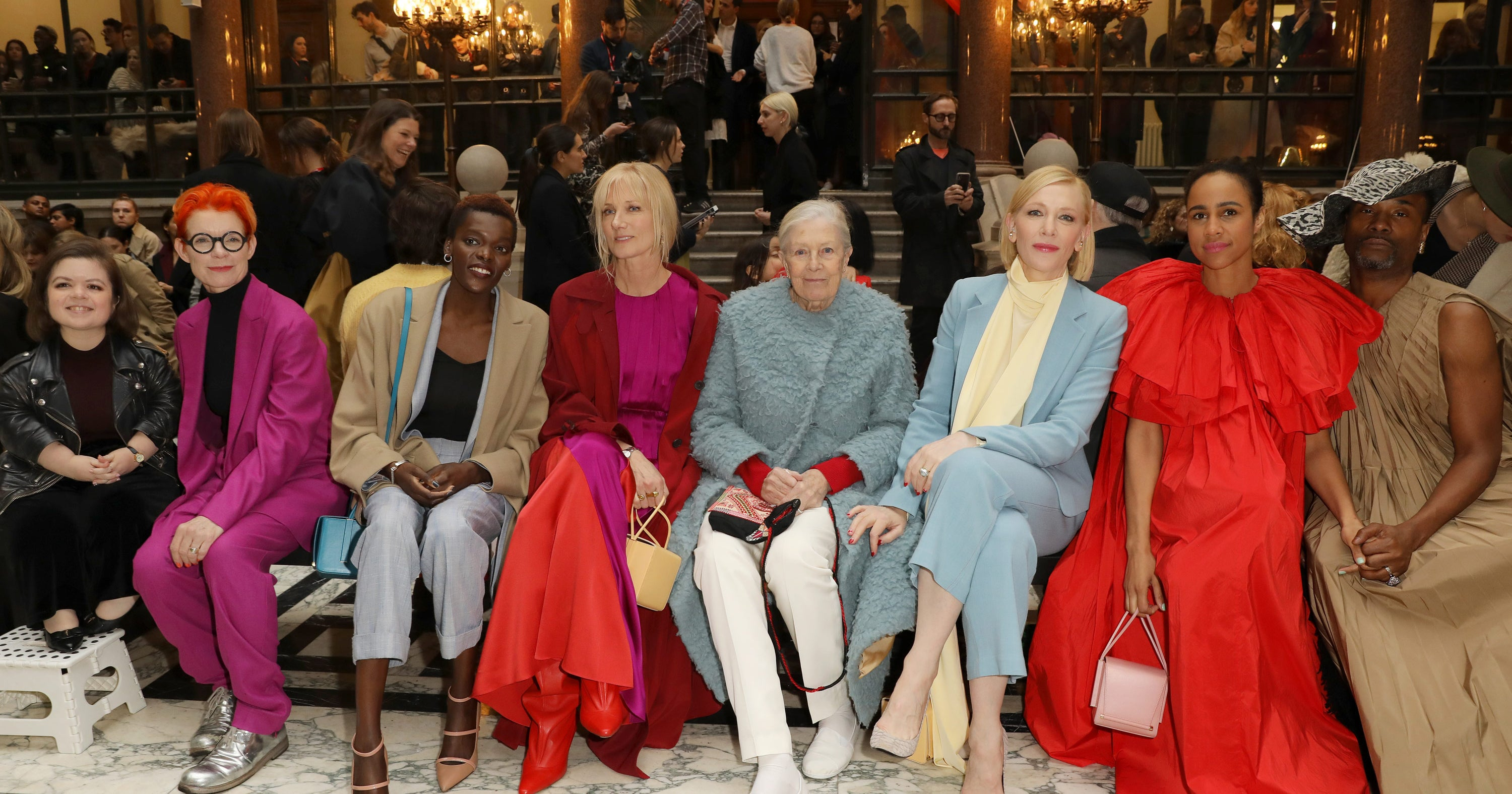 The A-List Were The Best ( Brightest) Dressed At LFW