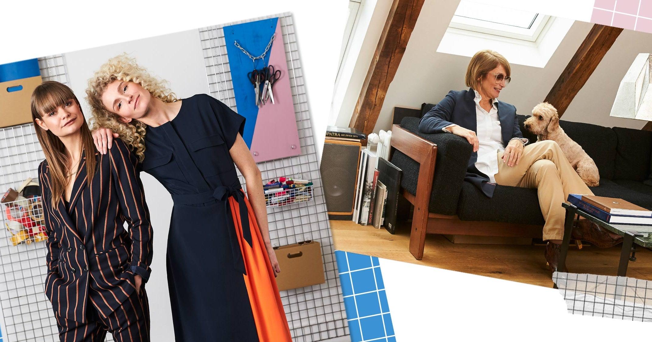 Business-Frauen sprechen über die Power von Mode
