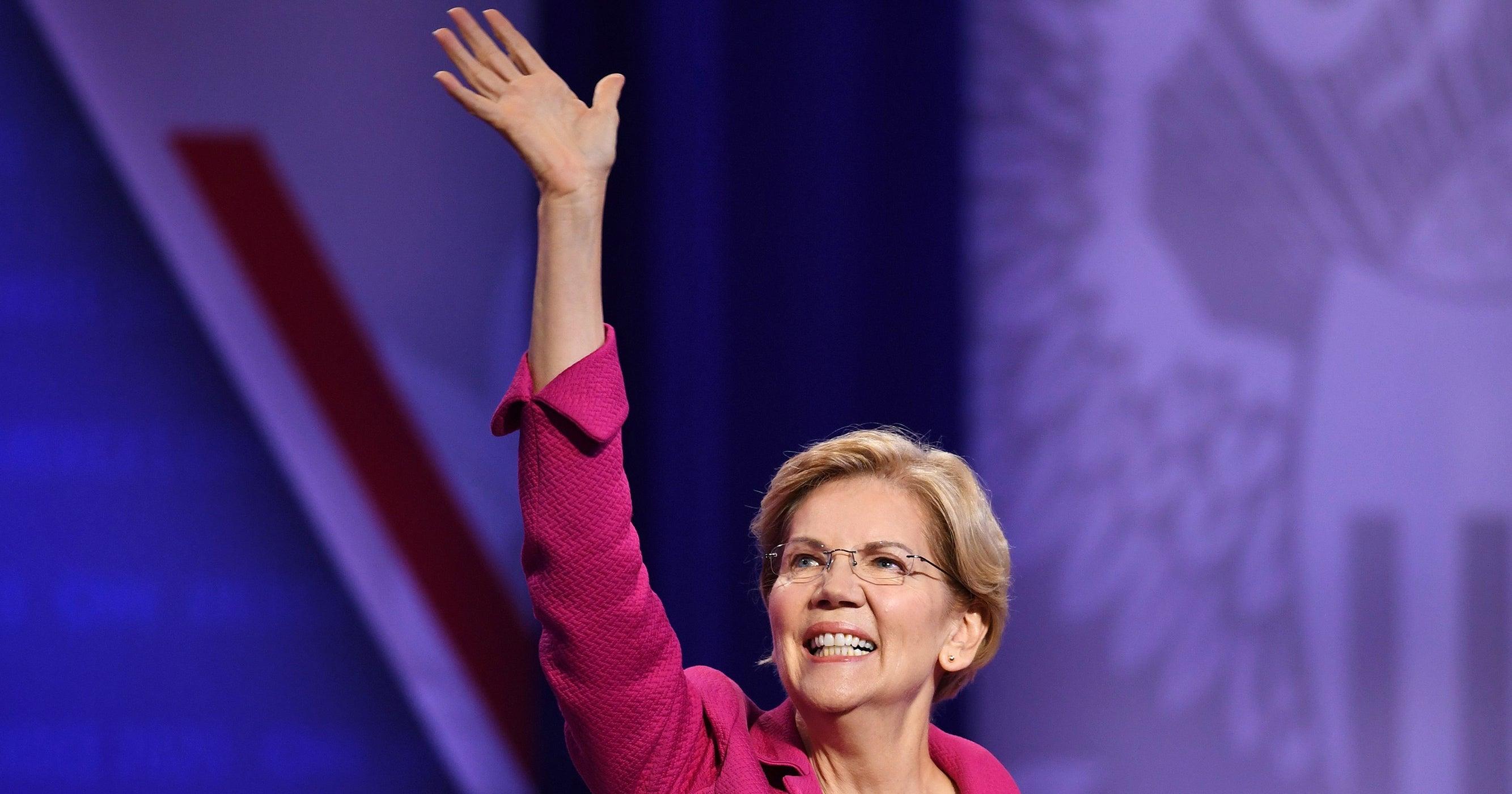 Elizabeth Warren Comes Back Swinging — At Bloomberg