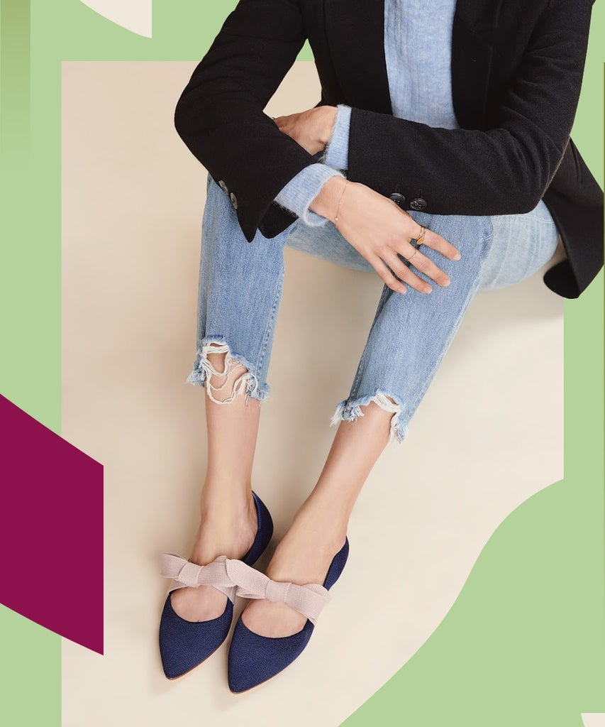 The Rothy's Mary Jane Flat Is Like A Present For Your Feet