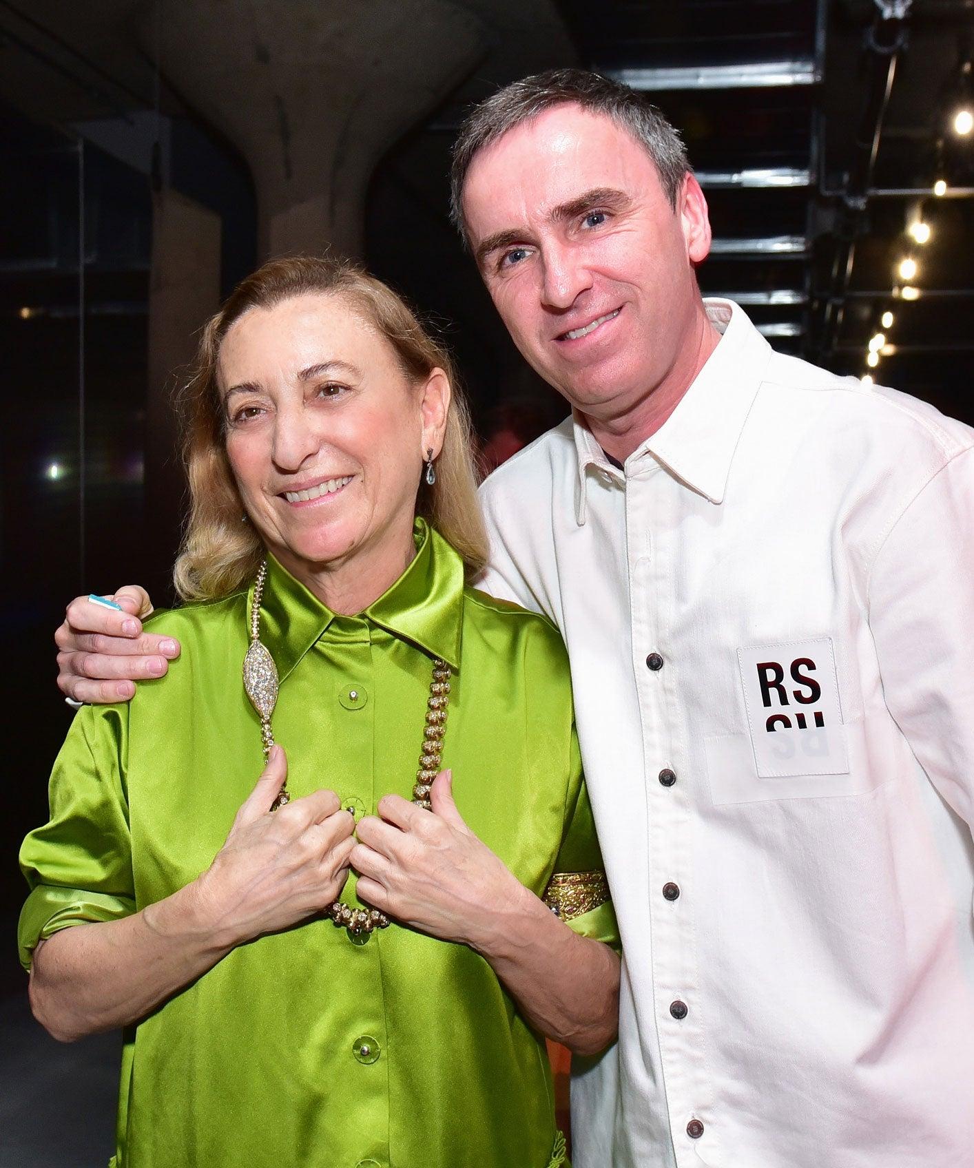 Raf Simons Joins Miuccia Prada As Co-Creative Director