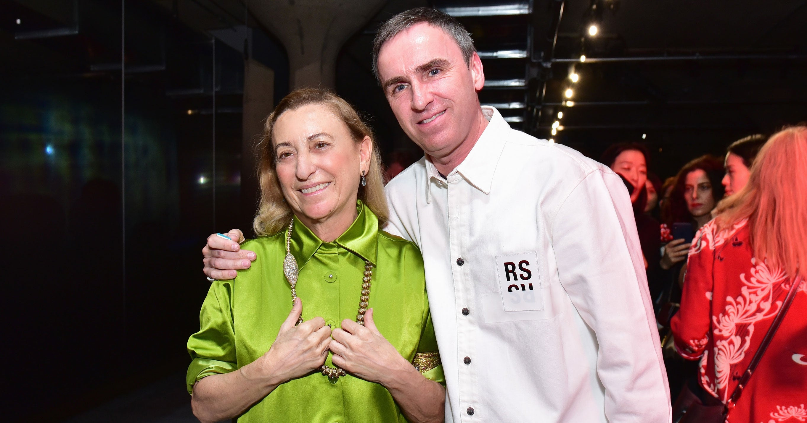Raf Simons Miuccia Prada Are Teaming Up In First-Ever Co-Creative Director Roles