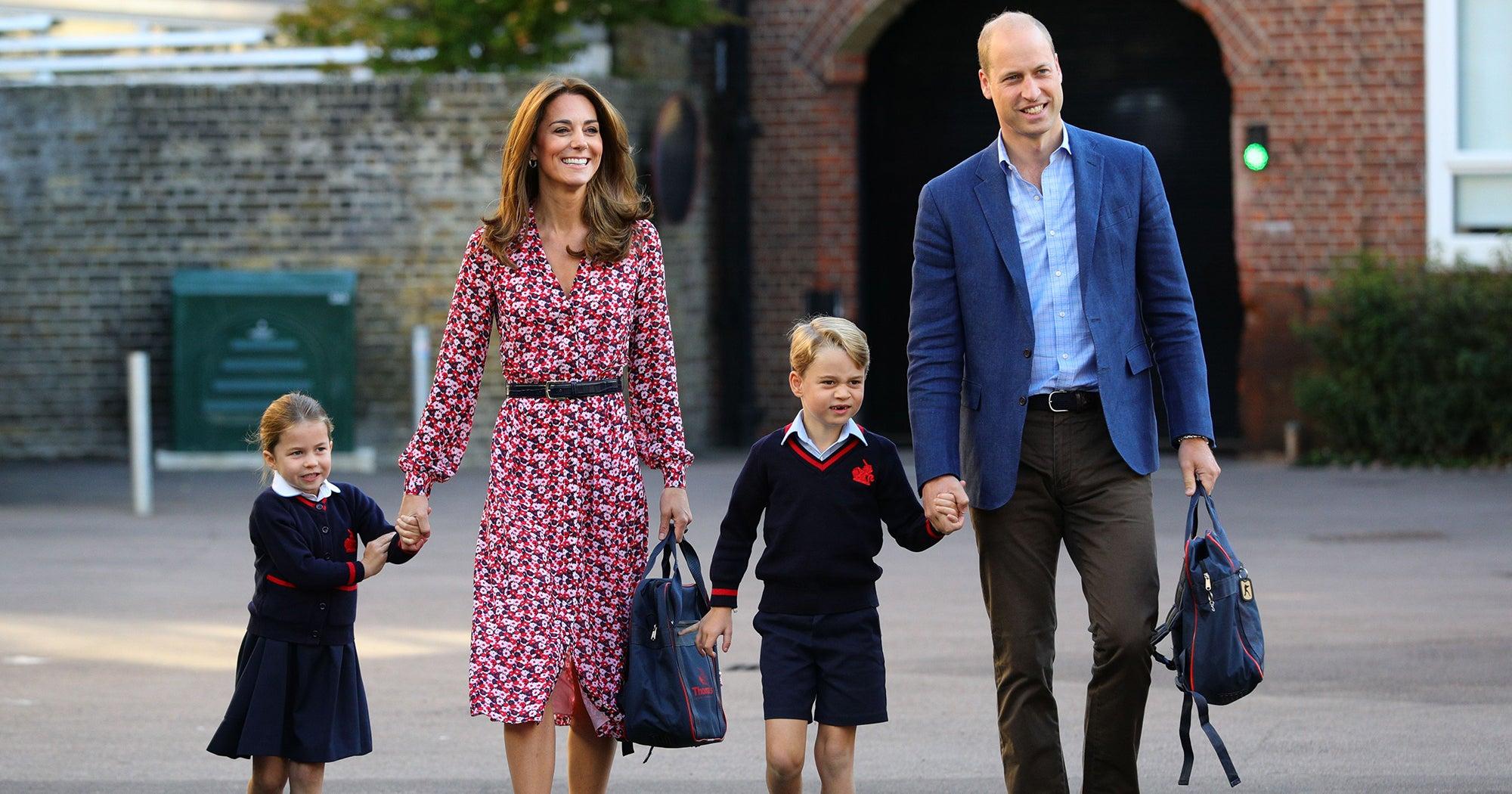 Prince George Princess Charlotte's School Is Having A Coronavirus Scare