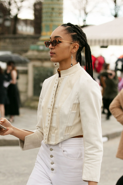 11 Stunning Natural Hair Moments From Paris Fashion Week