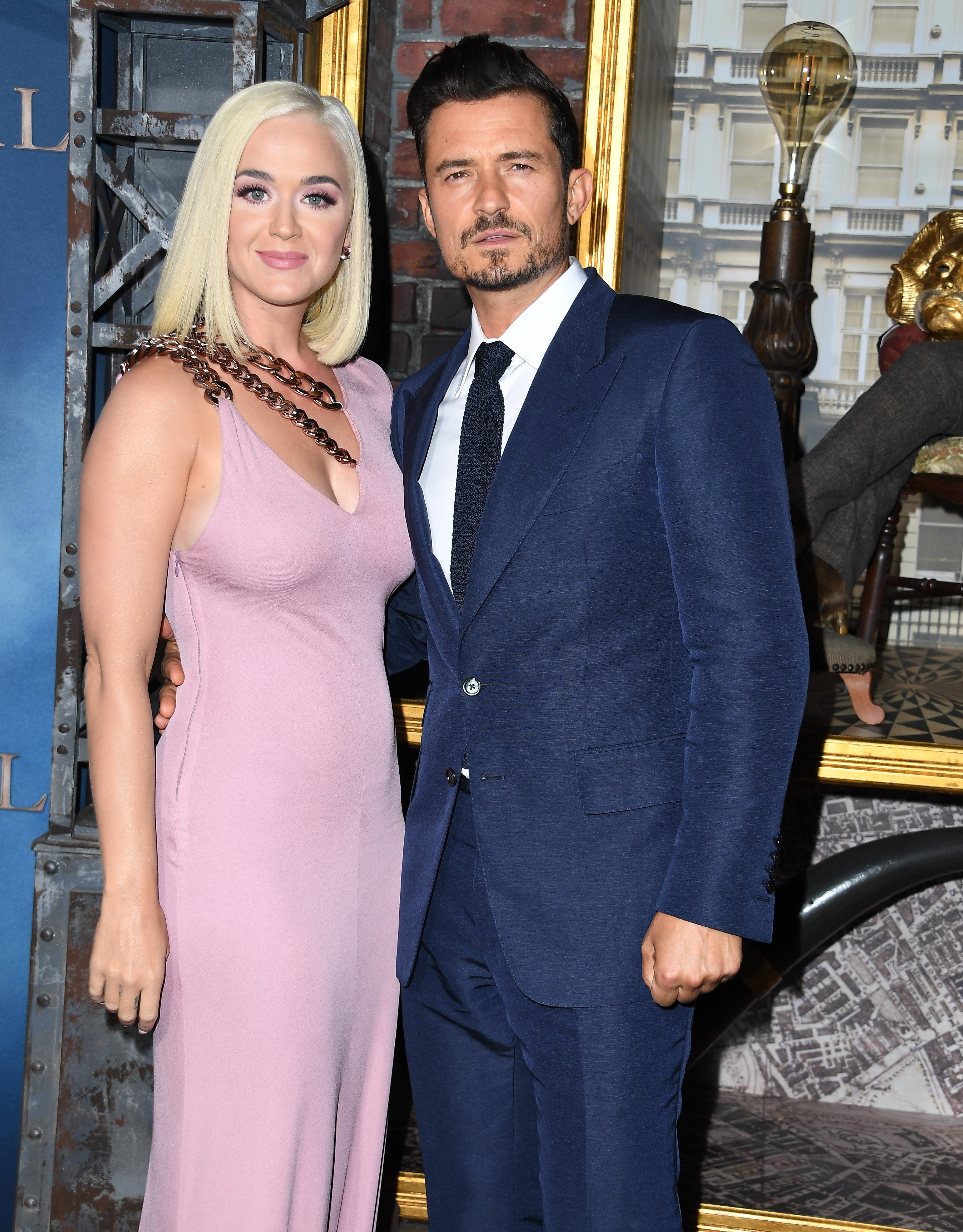 Katy Perry Pregnant With Orlando Bloom Never Worn White