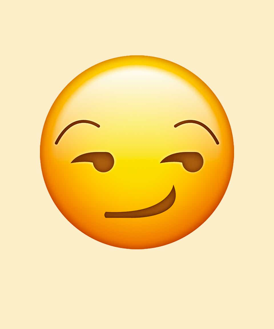 What does wink emoticon mean