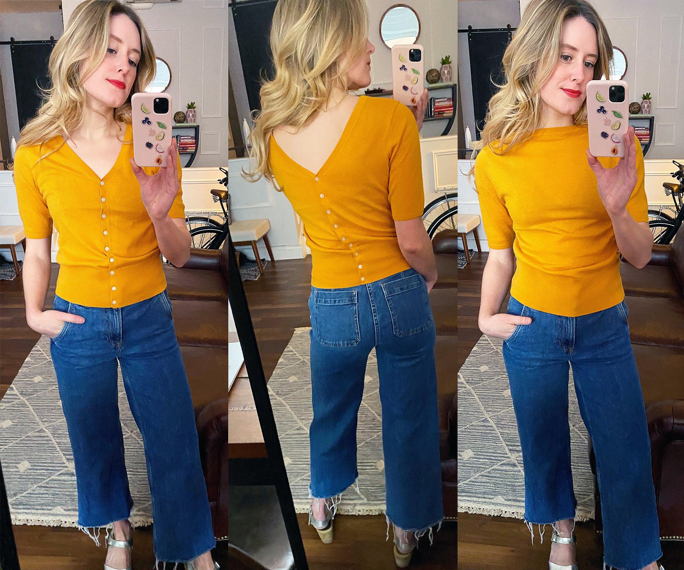 Everlane Cotton Merino Short Sleeve Cardigan Review
