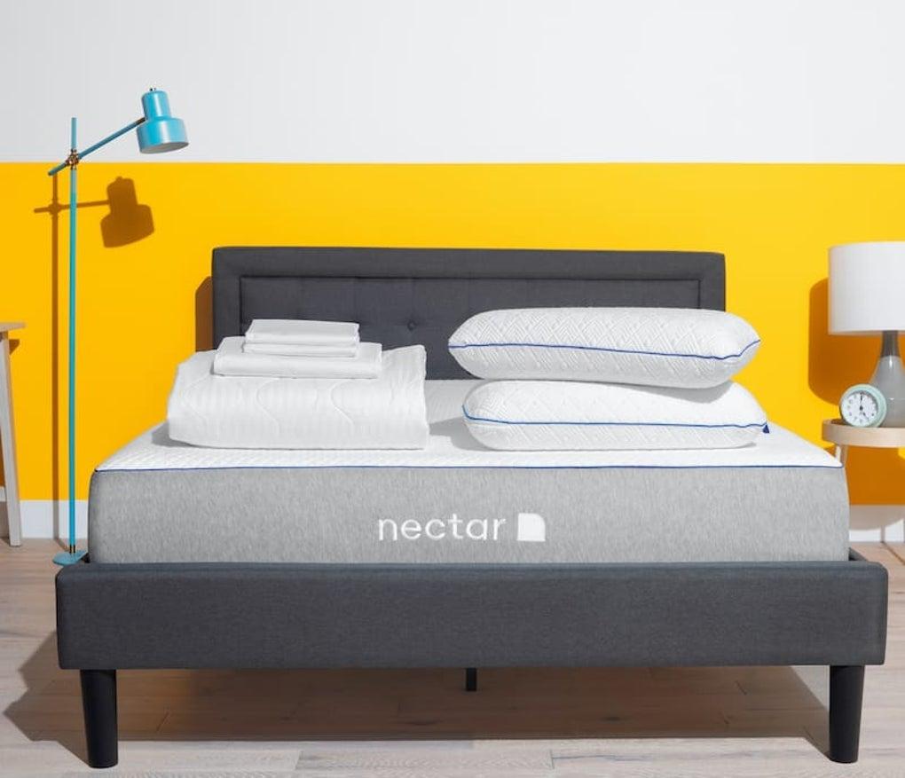 Memory Foam Mattress, Protector, Sheet & Pillow Set