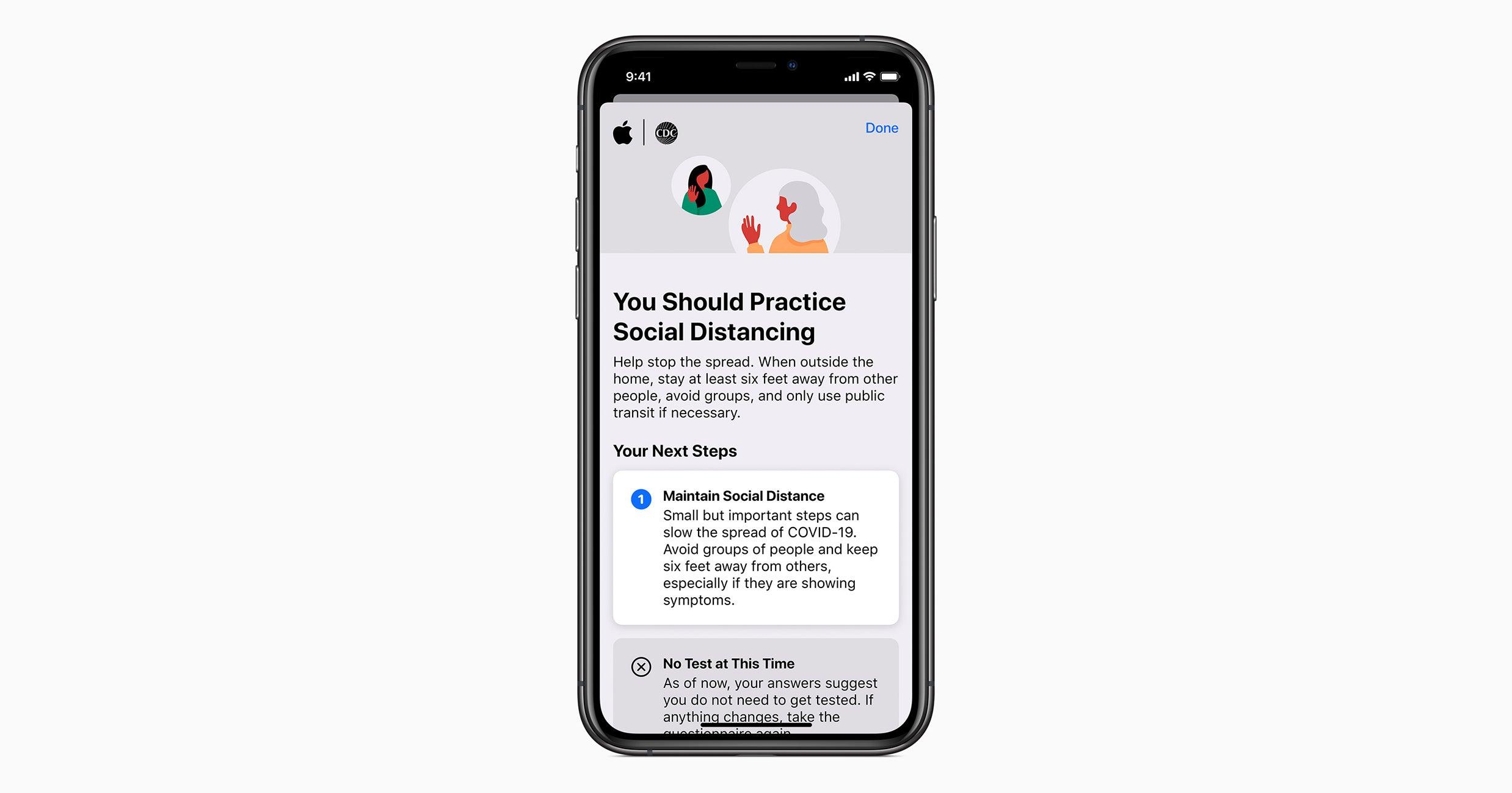 Apple Just Released A Coronavirus Screening App