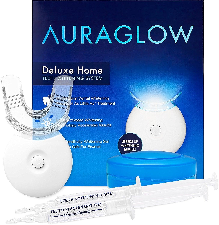 Système de blanchiment des dents à domicile AuraGlow Deluxe