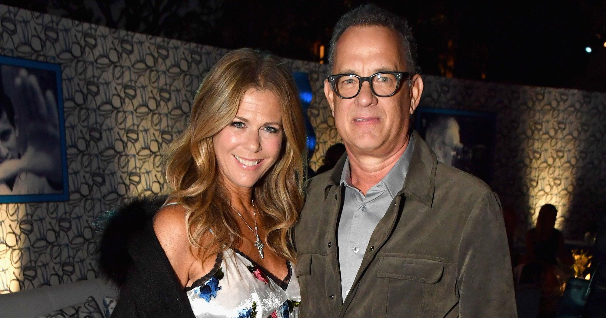 Tom Hanks Rita Wilson Are Back In The U.S. After Quarantining In Australia