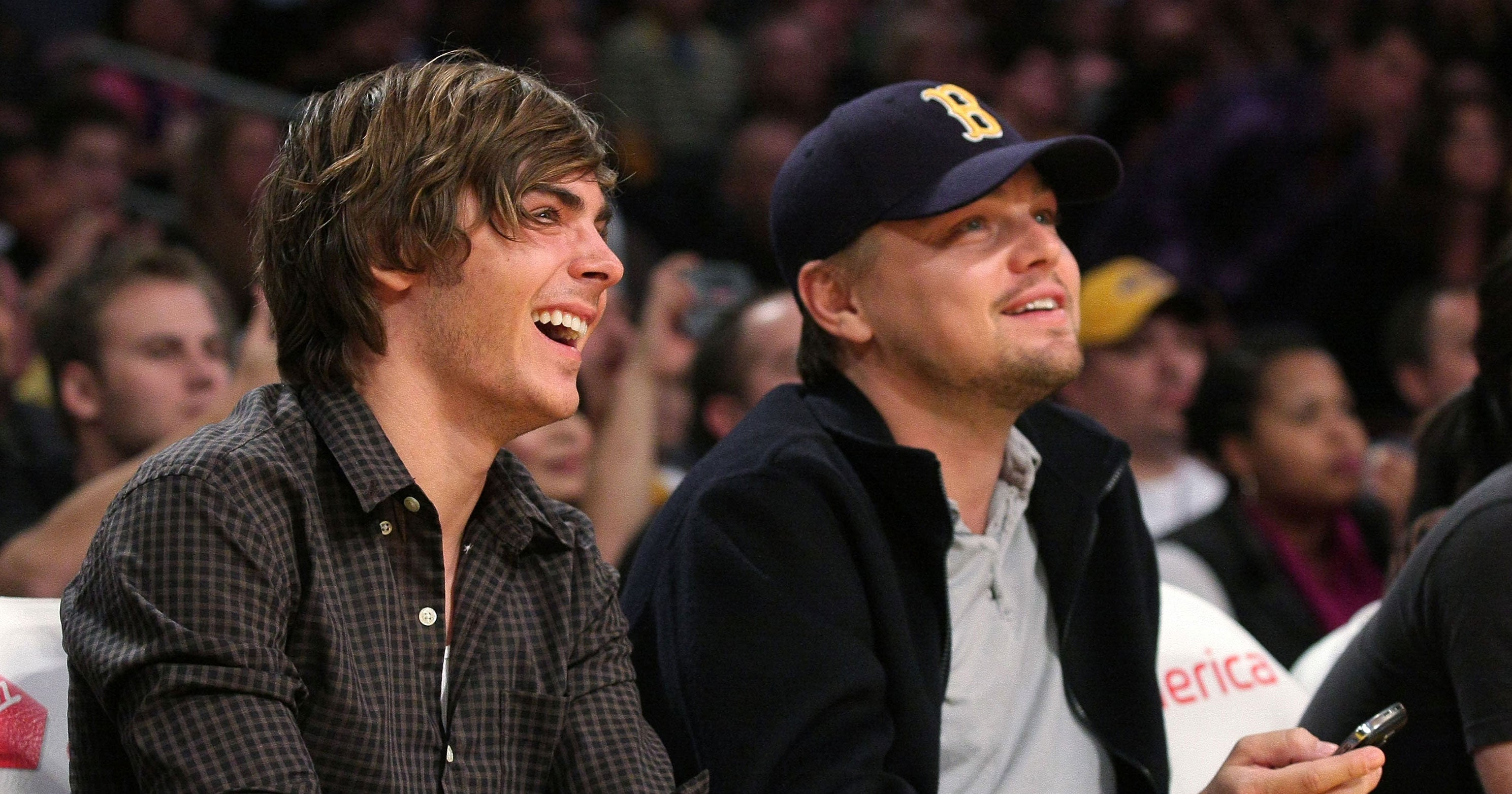 Zac Efron Shares Funny Bromance With Leonardo DiCaprio