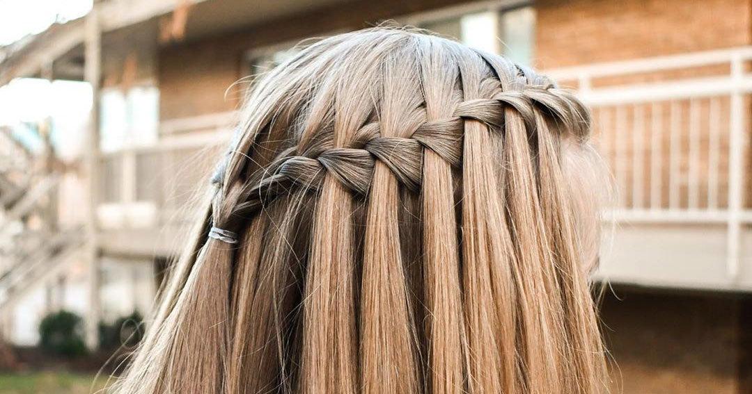 How To Do A Waterfall Braid At Home With 3 Easy Steps