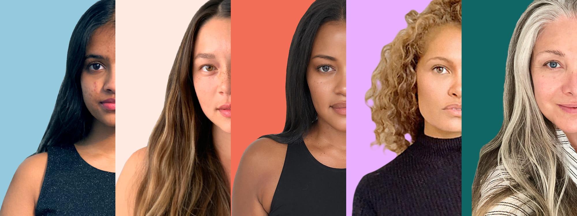 Image of five women