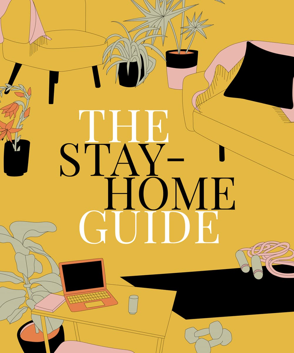 The Stay-Home Guide hero image.