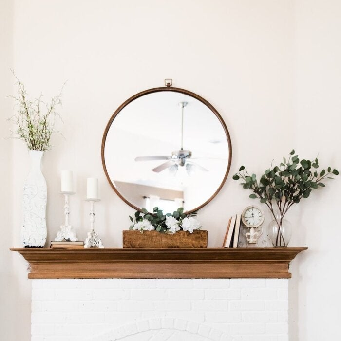 Kelly Clarkson Home Modern 038 Contemporary Beveled Accent Mirror