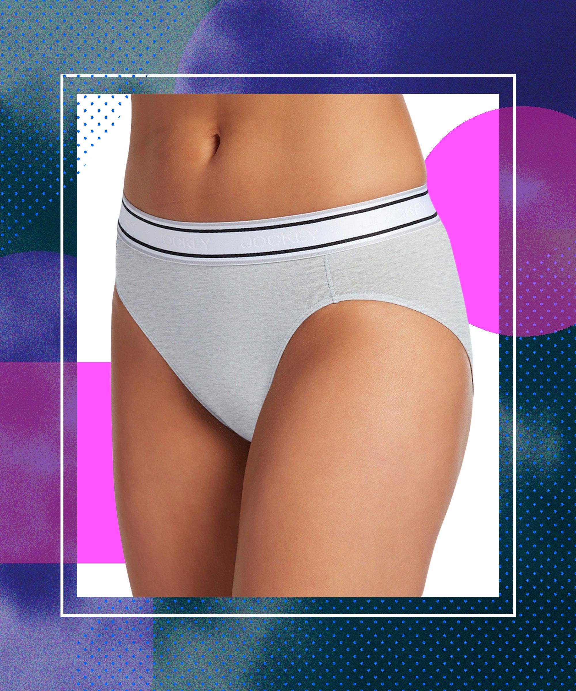 6 Pack of Womens Brief Underwear High-Rise Tagless Bikini Panties