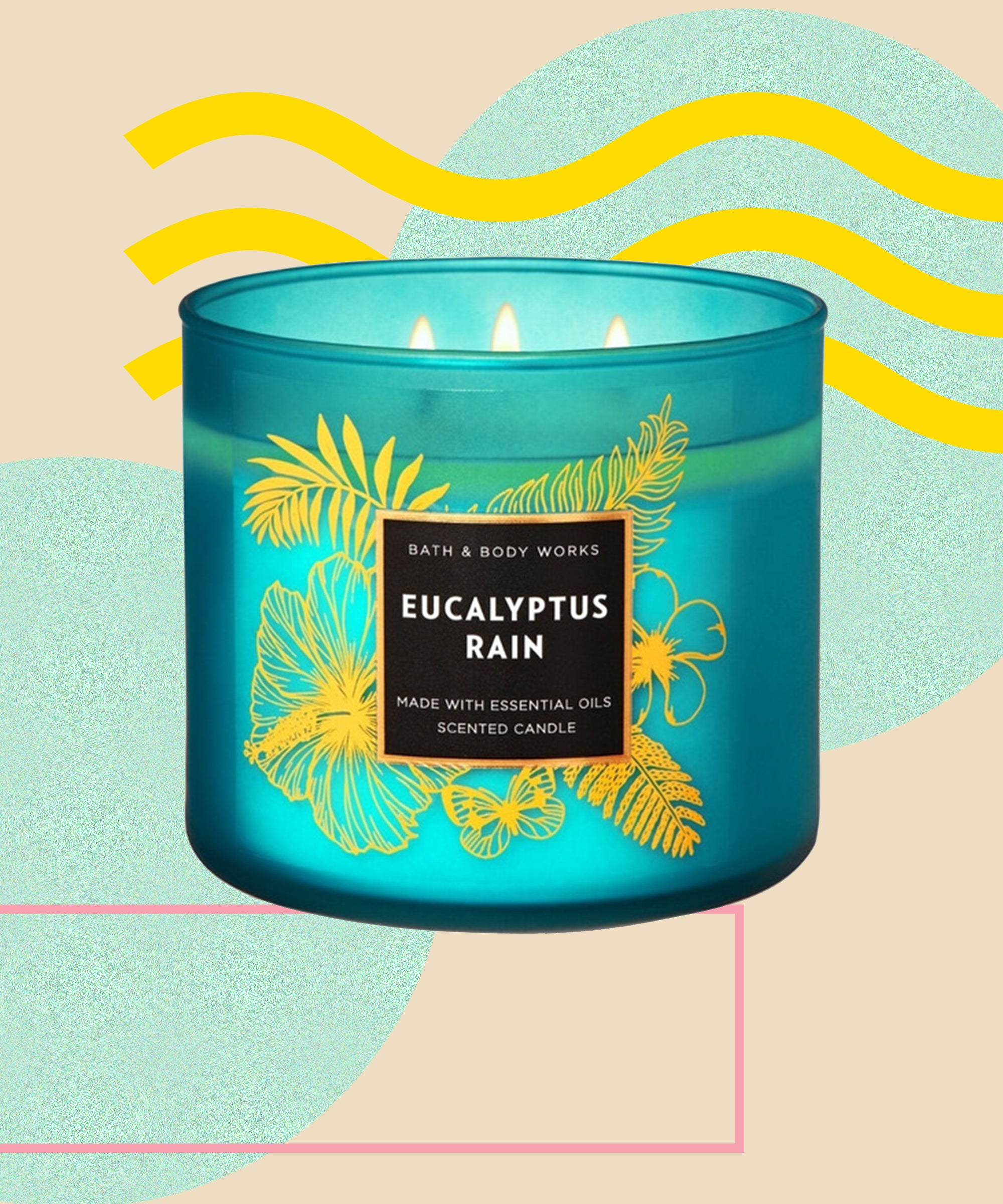 Bath Body Works 3 Wick Candles Spring Sale 2020