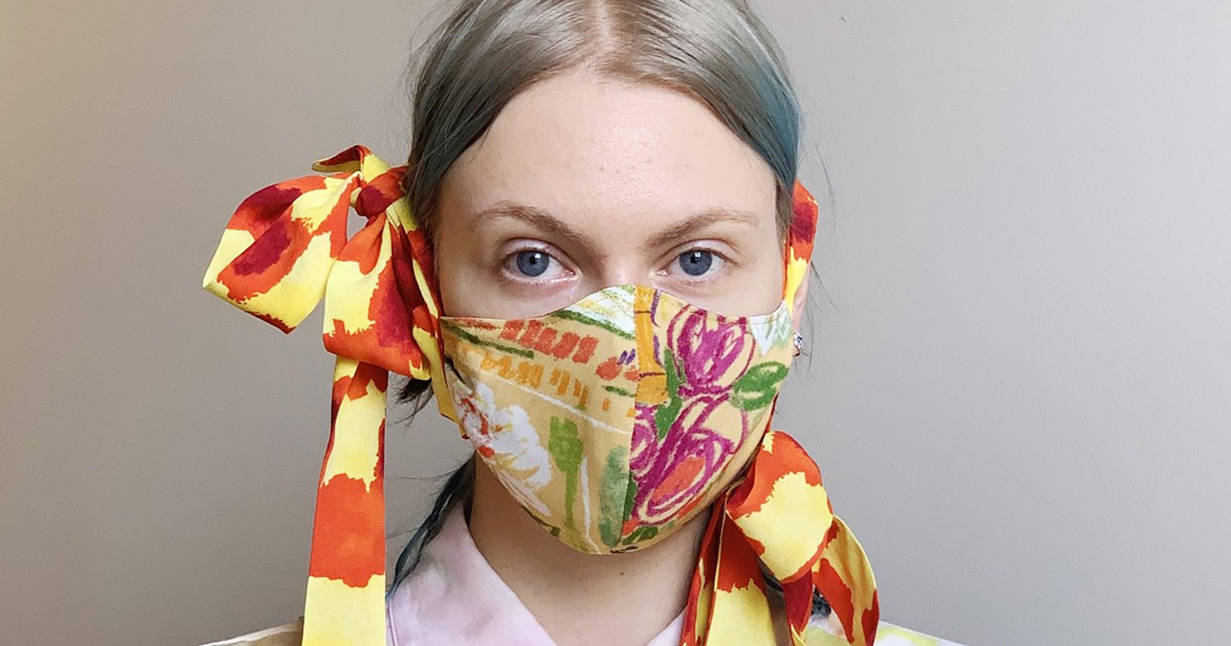 18 masques en tissu qui sont aussi de véritables accessoires de mode