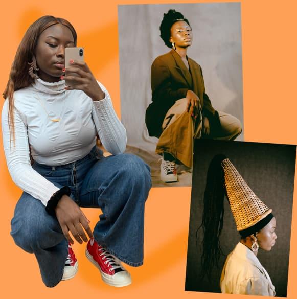 Joy Matashi collage
