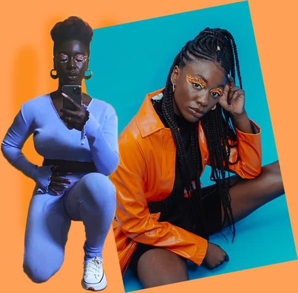 Wendy Asumadu collage