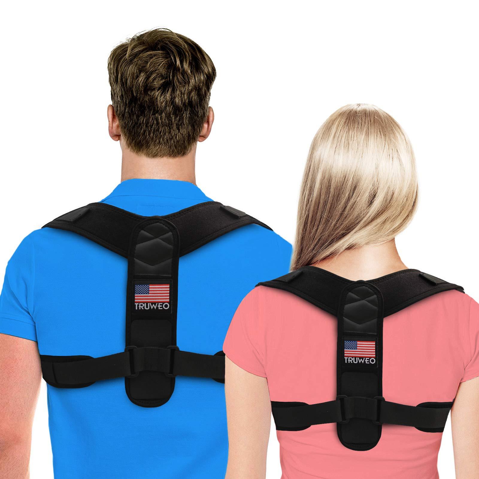 Truweo Adjustable Upper Back Brace