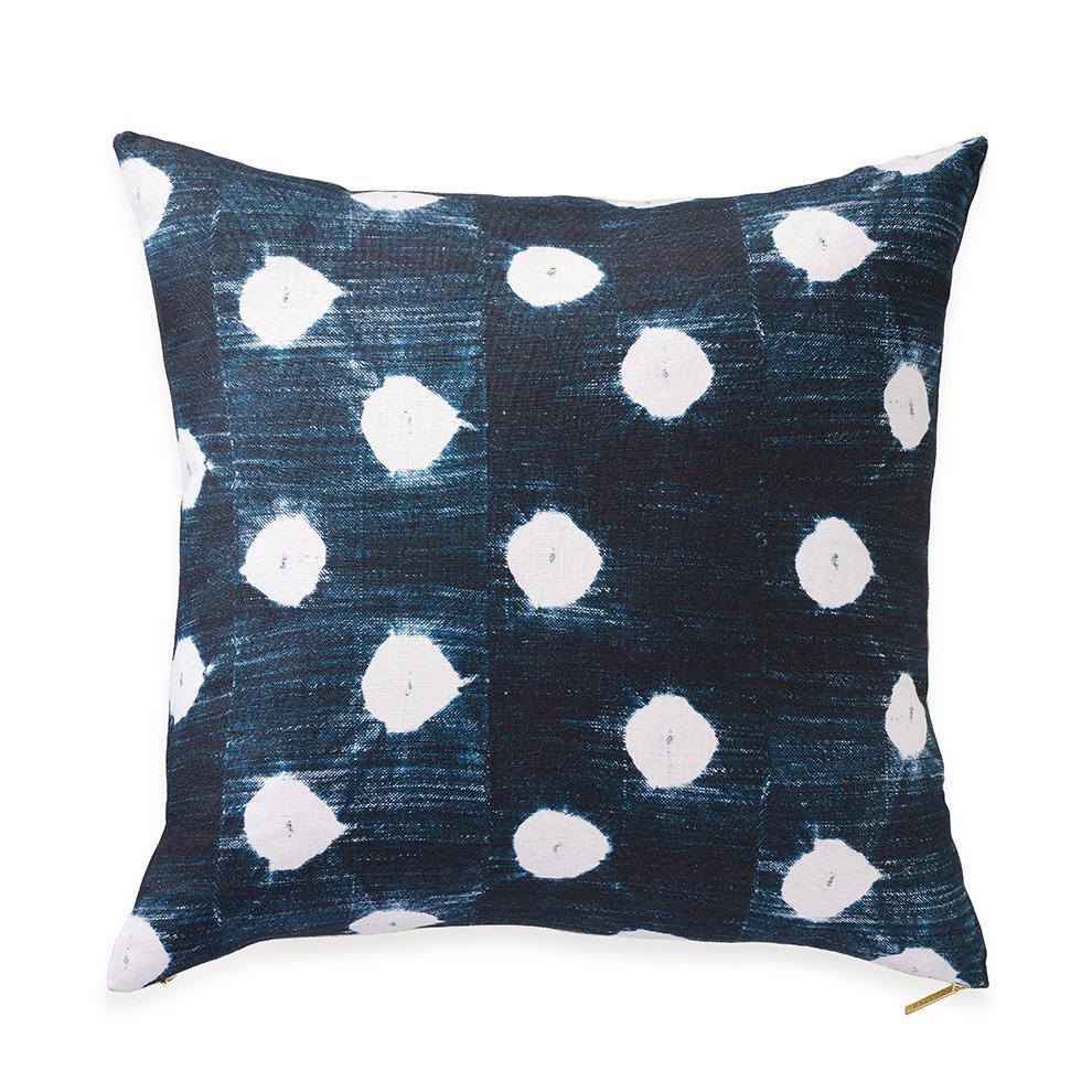 Dots Indigo Euro Pillow