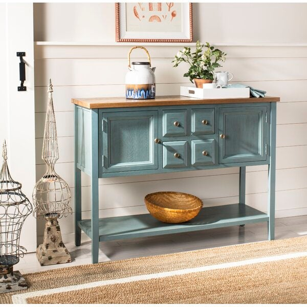 Sadie Solid Wood Console Table