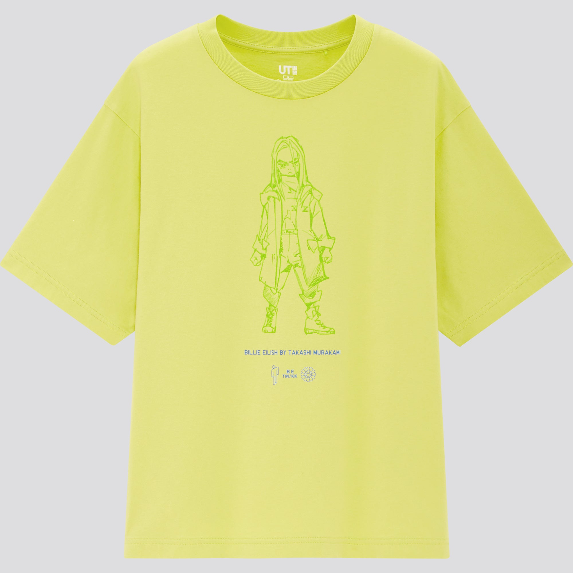Billie Eilish by Takashi Murakami UT Short-Sleeve Oversized Graphic T-Shirt