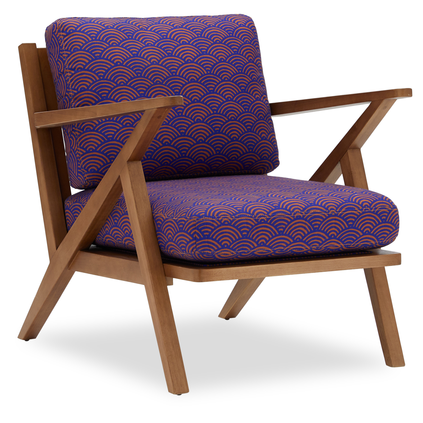 Mid-Century Style Accent Chair