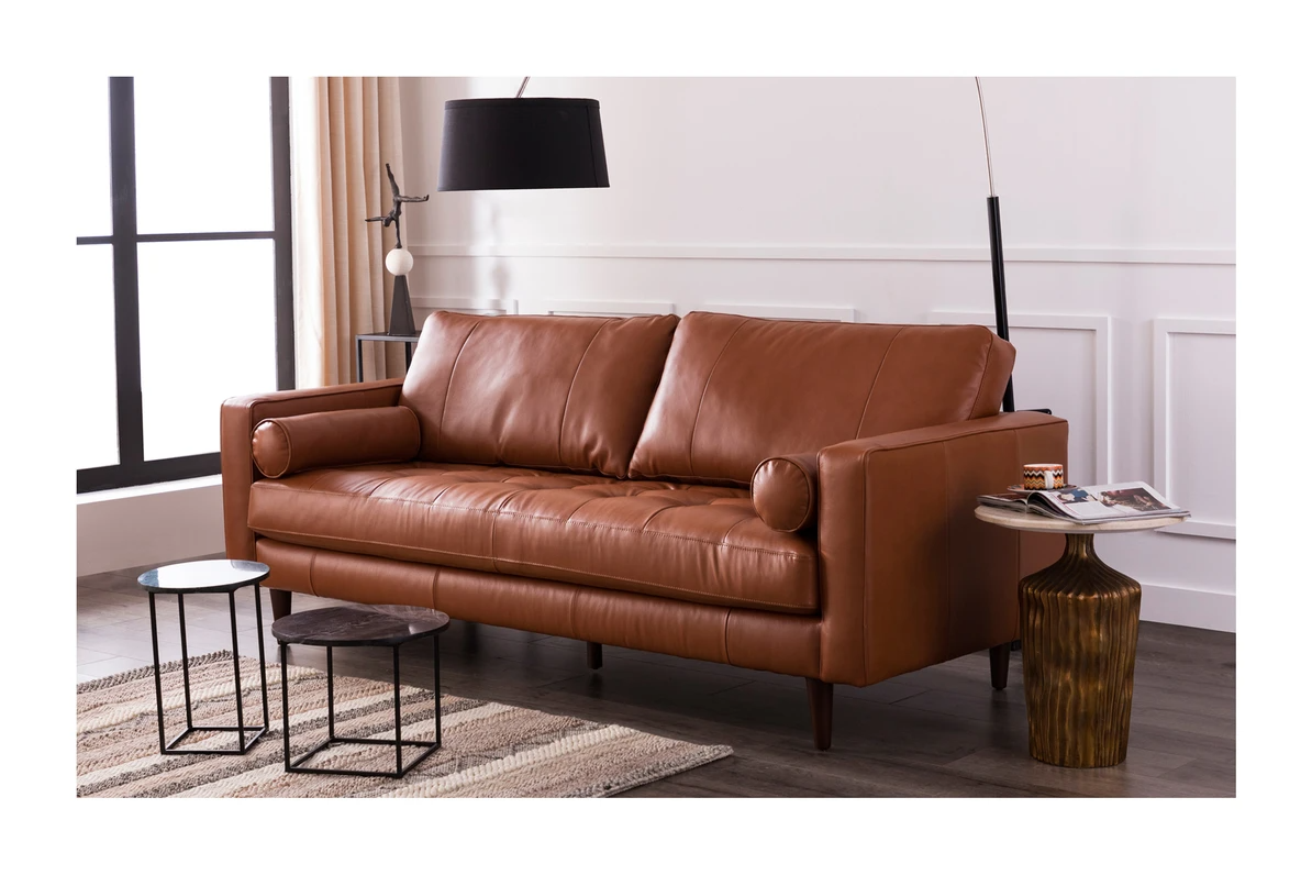 Jensen Leather Sofa