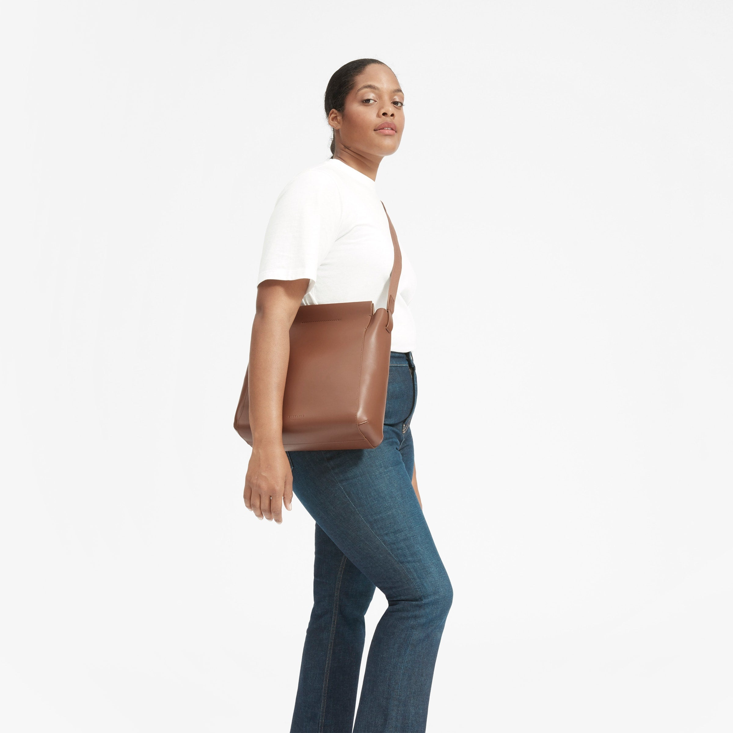 Everlane The Form Bag - Cognac