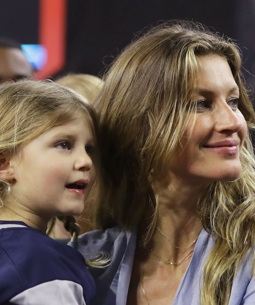 Gisele Bündchen and Her Daughter