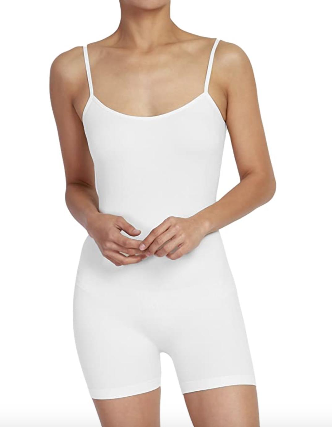 TheMogan Short Romper Bodysuit