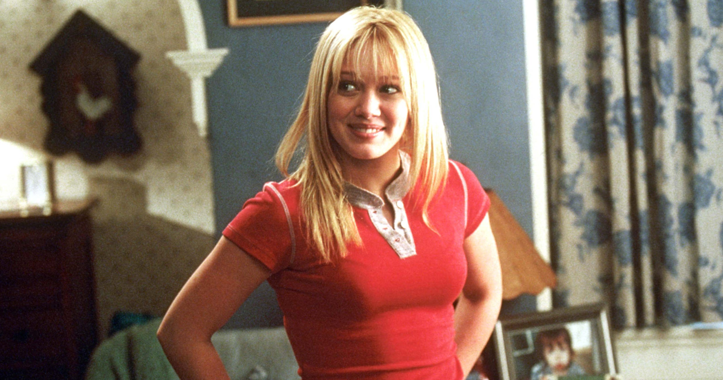 Hilary Duff Just Recreated That Iconic Face Mask Scene From 'Cheaper By The Dozen'