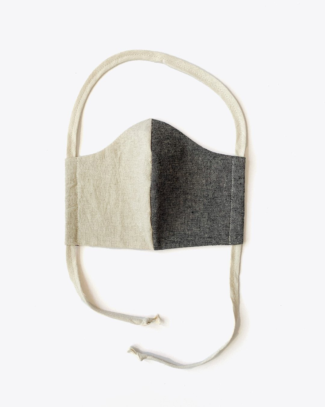 Upcycled Linen & Cotton Lined Mask