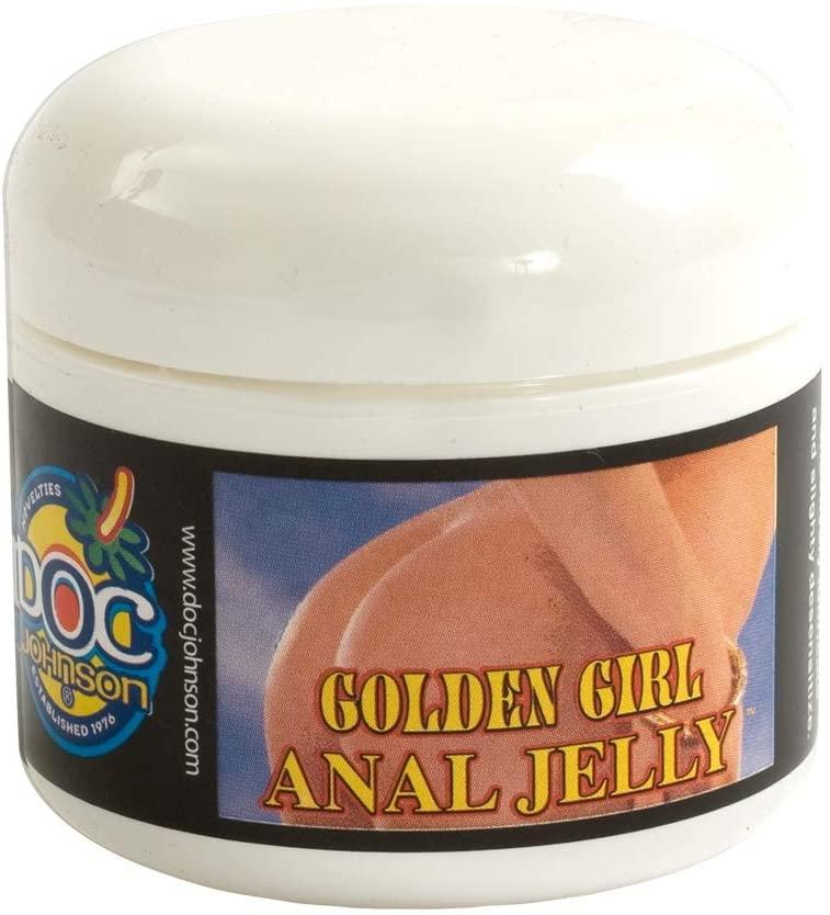 Doc Johnson + Golden Girl Anal Jelly, Clear