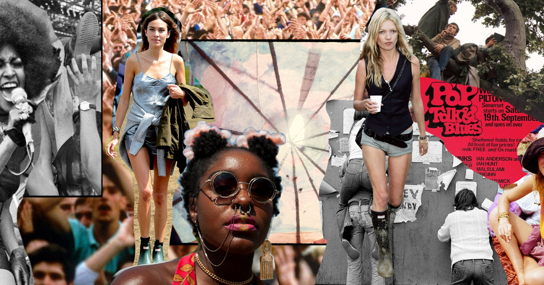 A Look Back At Each Decade Of Festival Fashion, From The '60s To Today