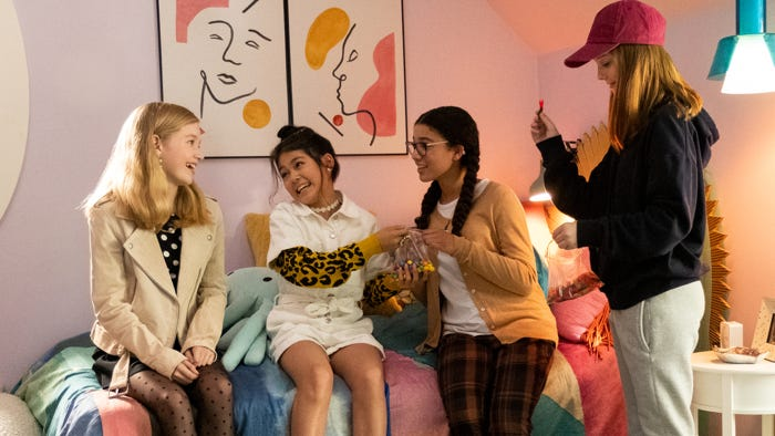 Baby Sitters Club 90s Fashion Trends With A Gen Z Twist