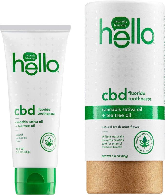 CBD Tea Tree Oil Fluoride Toothpaste