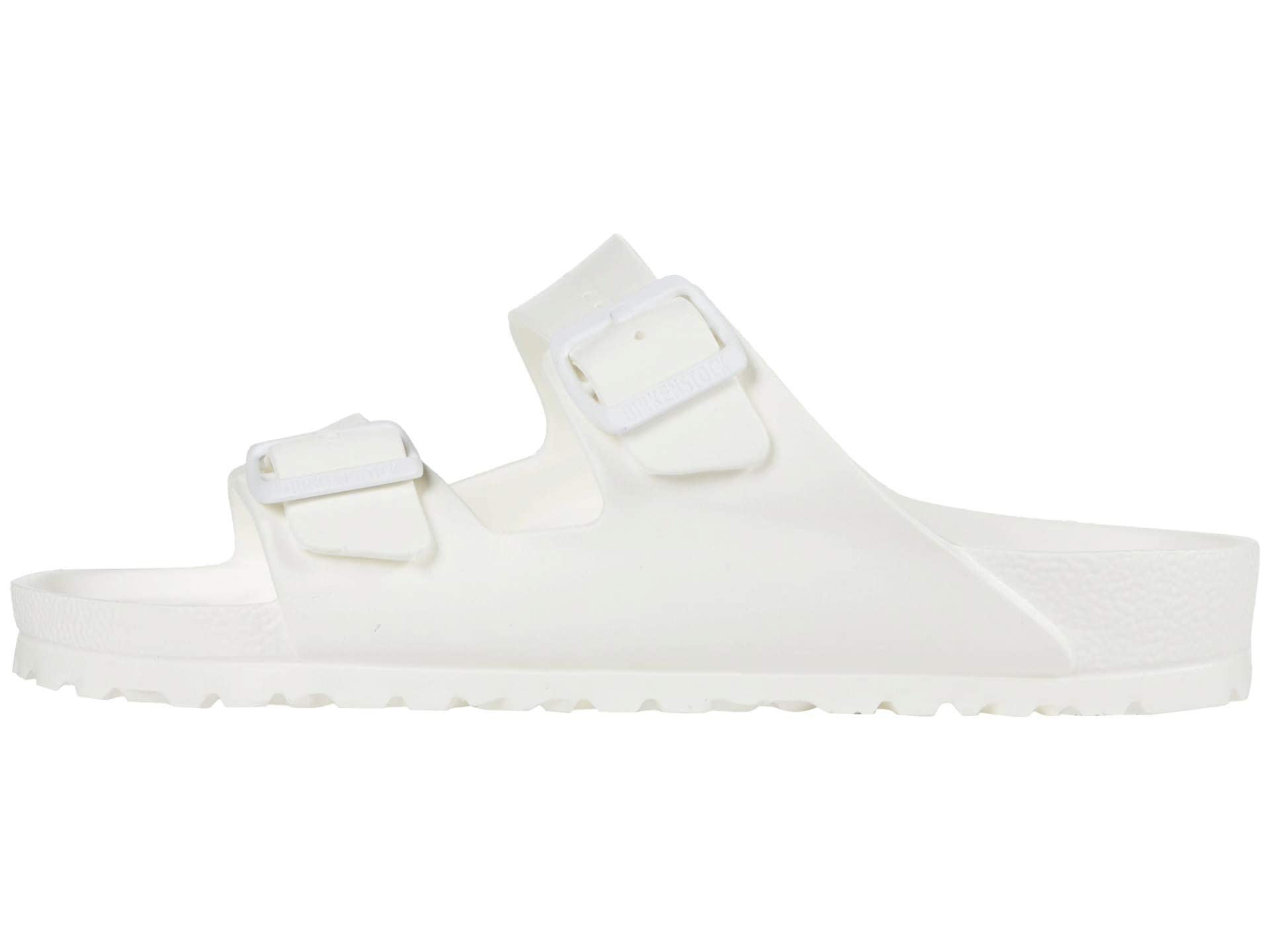 At Any Heel Height, White Sandals Are