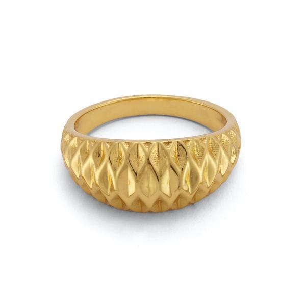 Suncatcher Ring 18 Karat Gold Vermeil