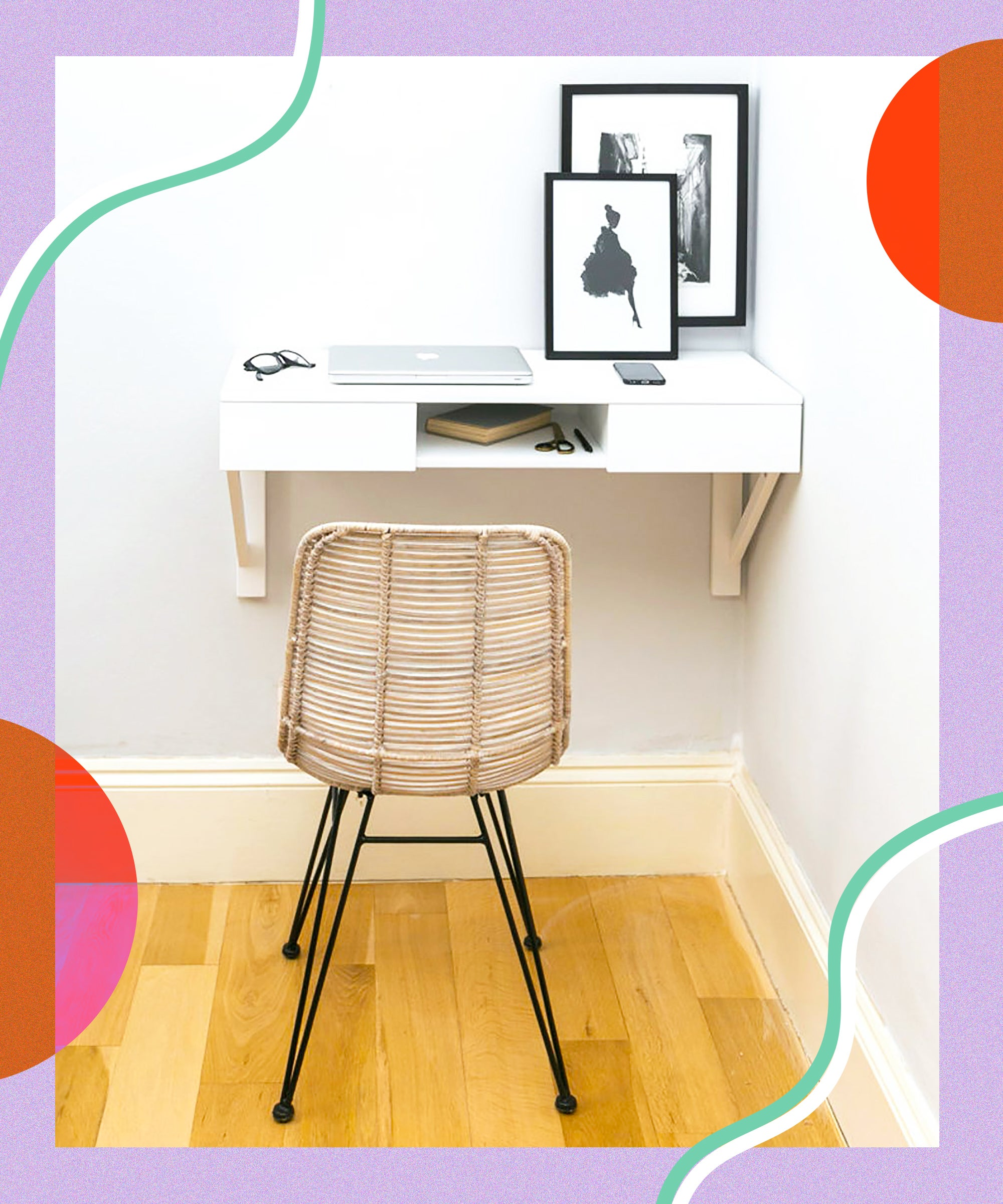 Best Desks For Small Living Spaces & Homes 43