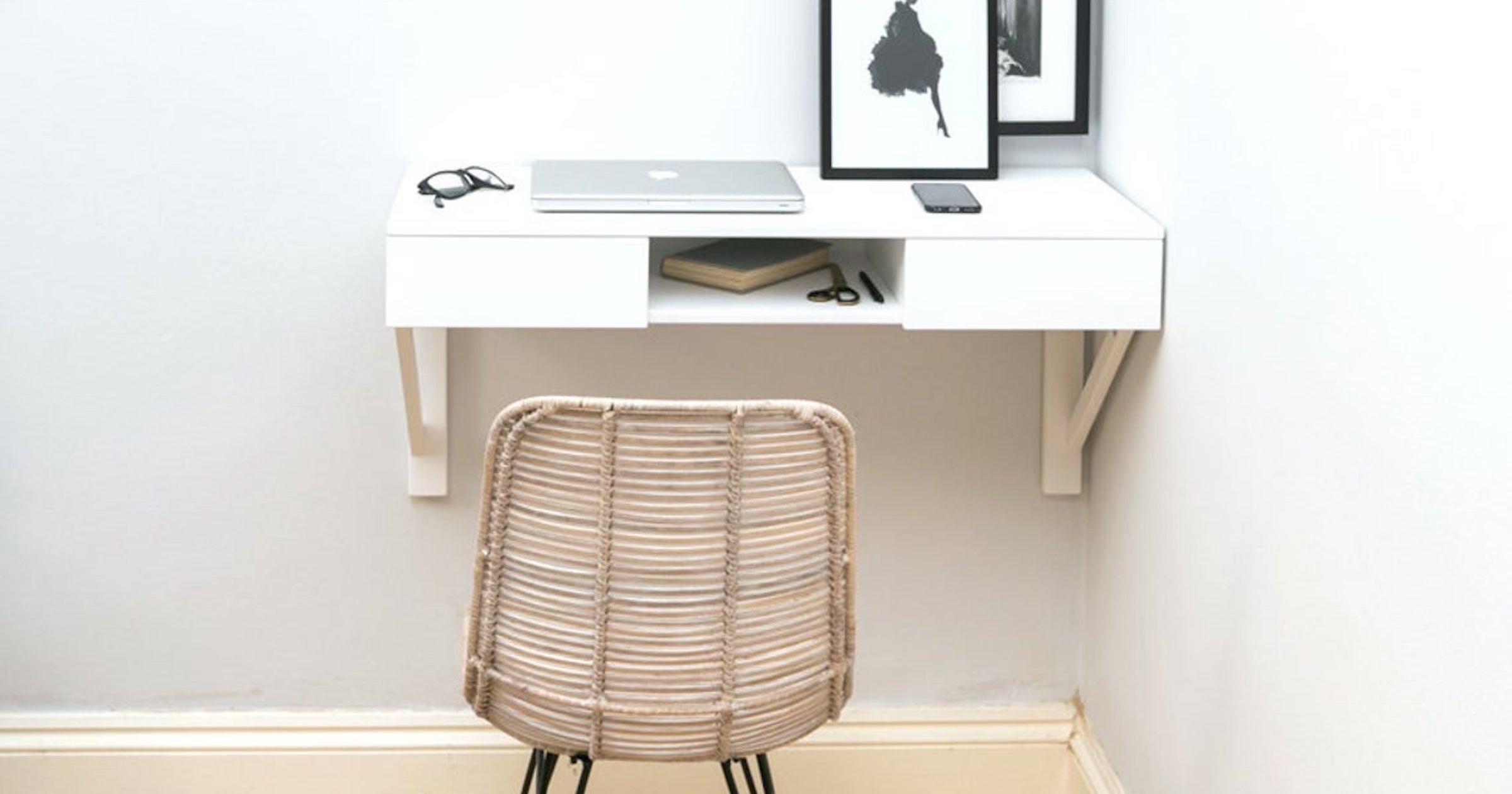 These Tiny Desks Are WFH Space Saviors
