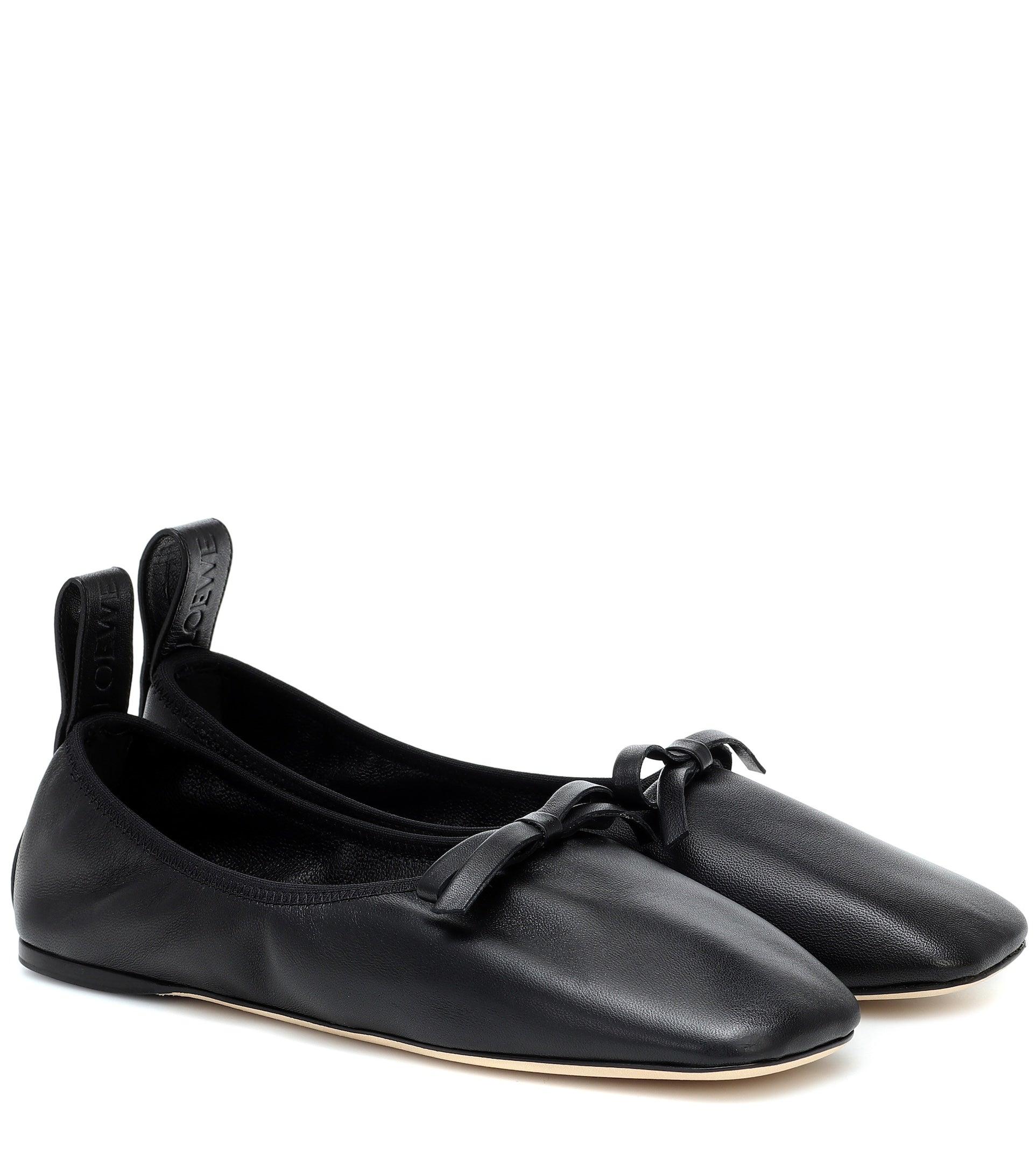 Loewe Leather Ballet Flats