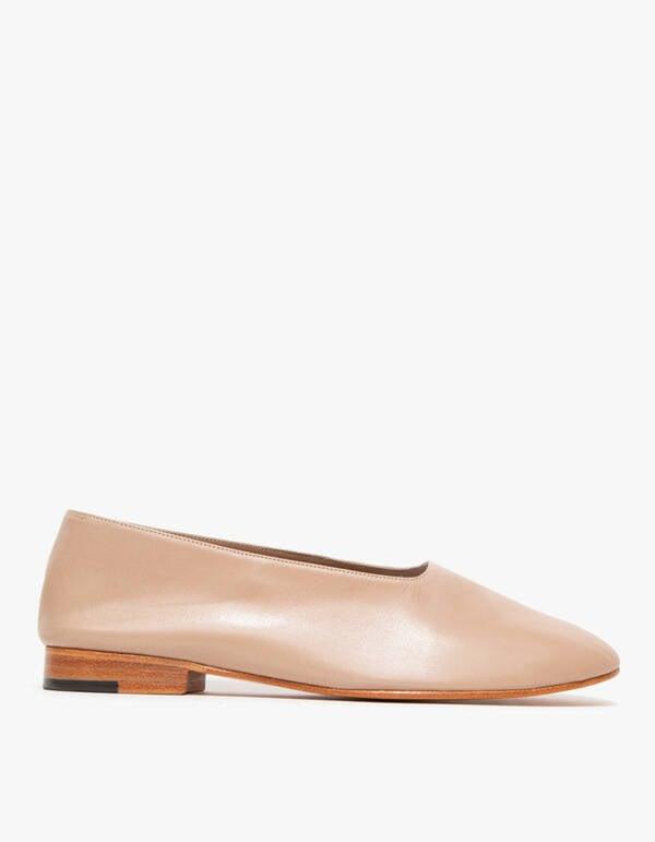 Martiniano Glove Slip-On Shoe in Beige