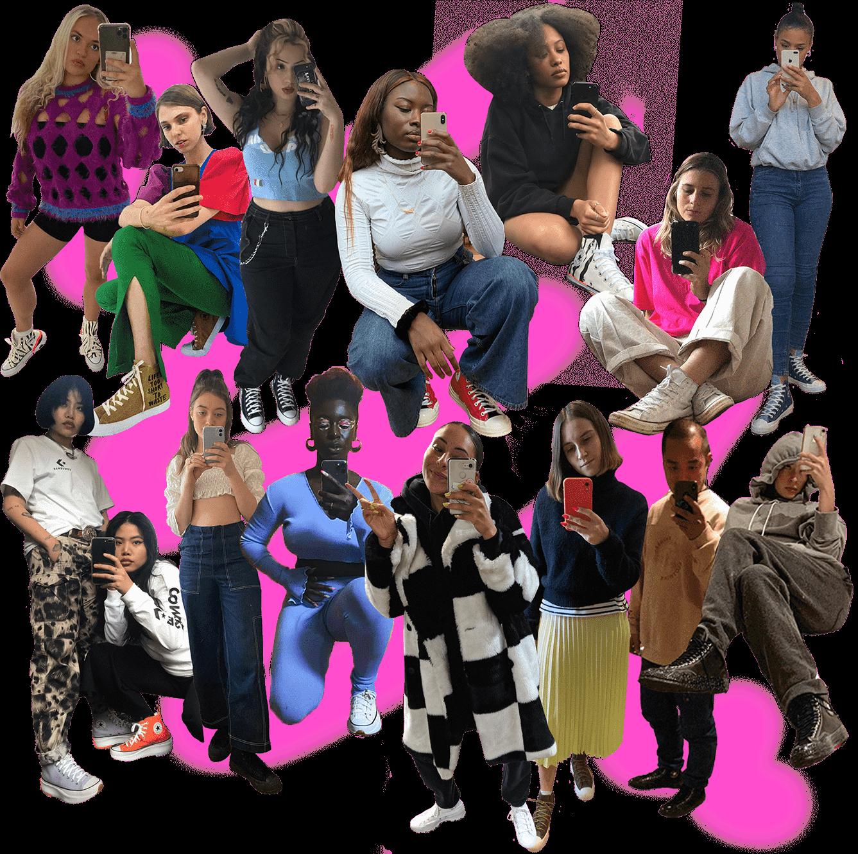 Converse S/O collage