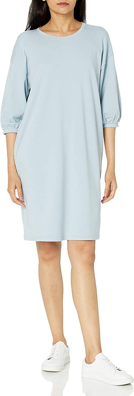 The Drop Estelle French Terry Sweatshirt Dress