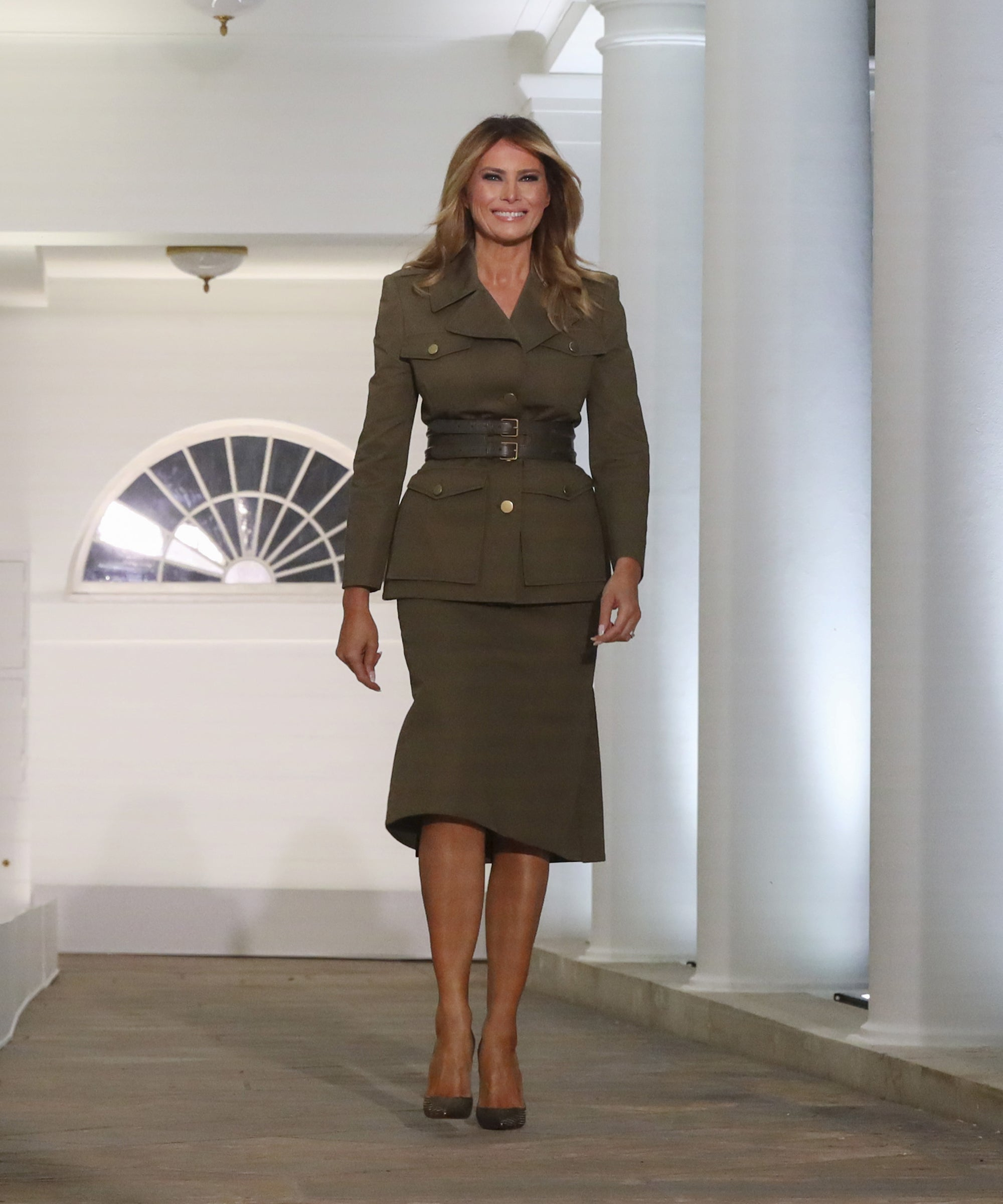 Hidden Meaning Behind Melania Trump S Rnc Military Look
