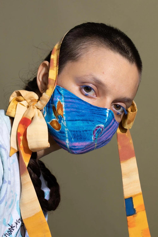 Collina Strada Fashion Face Mask With Bows